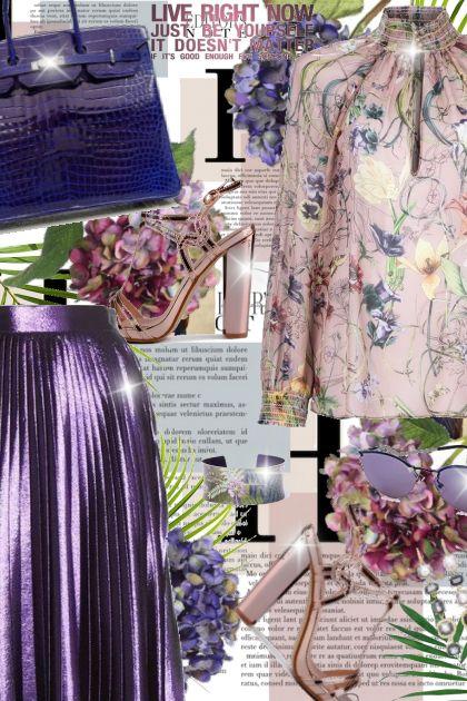 Purple skirt!