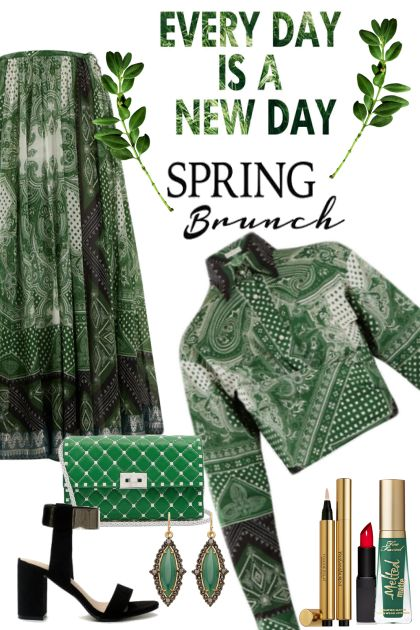 Spring Brunch ~ Paisley Print