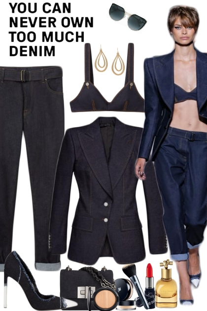 Tom Ford Raw Denim Collection