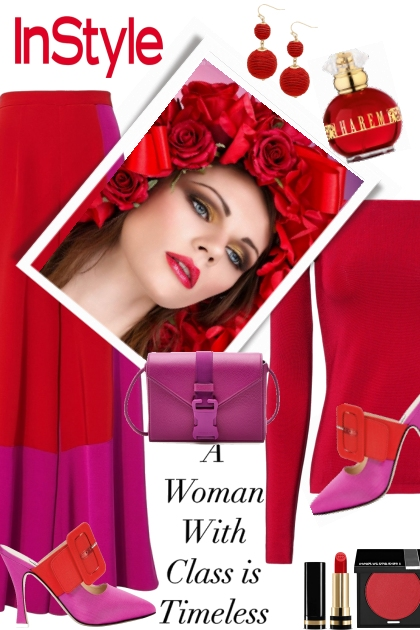 Red & Fuschia Color Trend ~ SS 2018