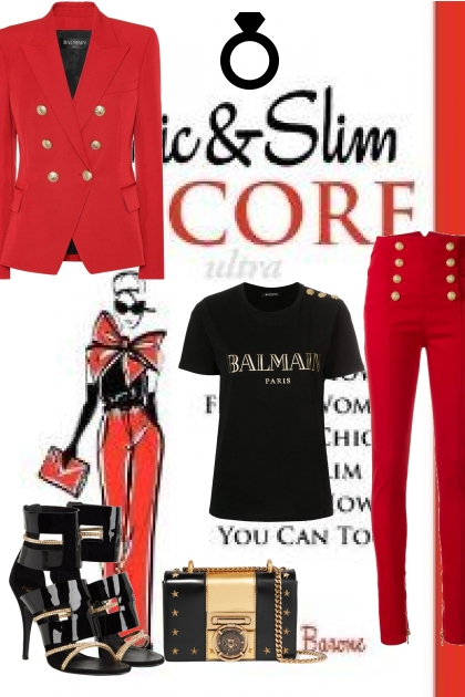 balmain france- Fashion set