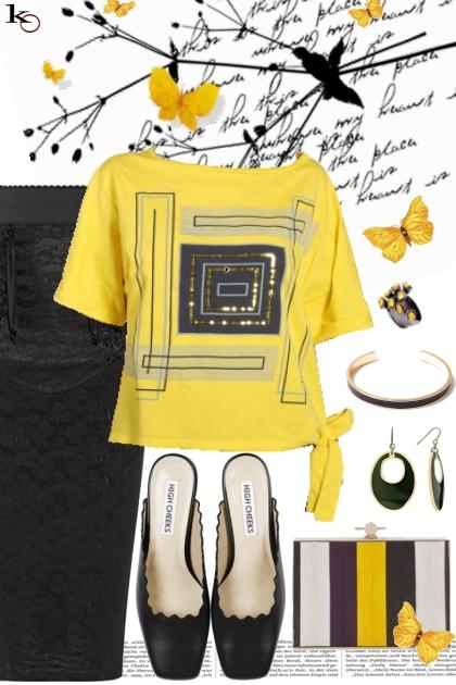 Pop of Yellow !!