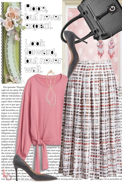 Pink & Gray for Autumn !!