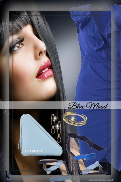 In A Blue Mood Today . . .