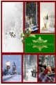 Wintery Christmas Collage