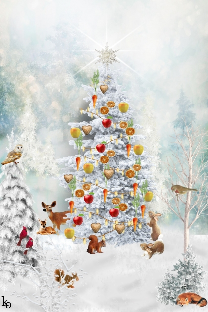Woodland Critters Christmas