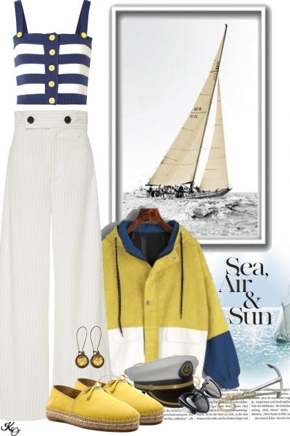 """ Come Sail Away """
