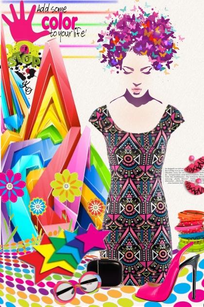 Crazy about Color !!