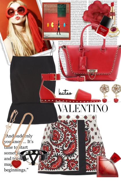 "A ""Little "" Red Valentino"