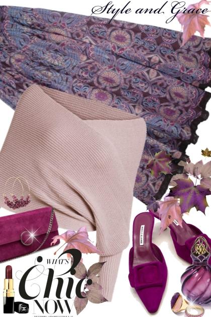 Pink & Purple Autumn