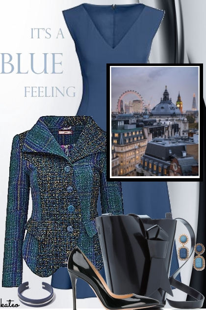 Blue Tuesday in London - Fashion set