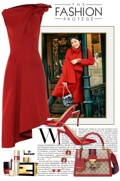 Red Wednesday !!- Fashion set