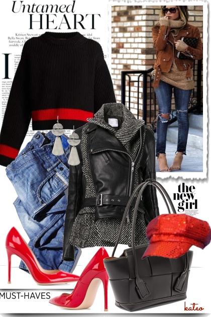 Casual, City Chic & Retro - Combinazione di moda