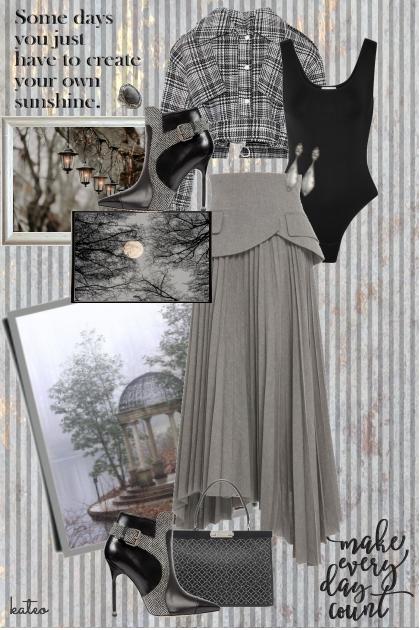 A Study in Grey - Combinazione di moda