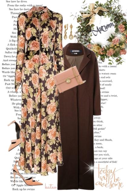 Autumn Roses  - Combinazione di moda