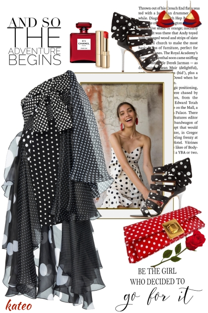 Fun with Polka Dots !!