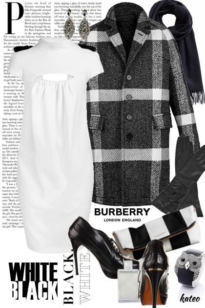Burberry in Black & White