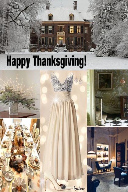 Thanksgiving Snow !!