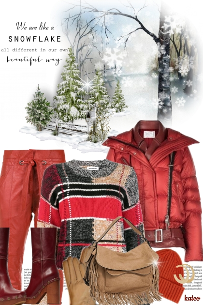 Snowy Thanksgiving !! - Fashion set