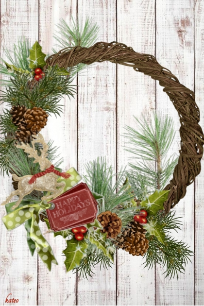 Christmas Wreath for You !!