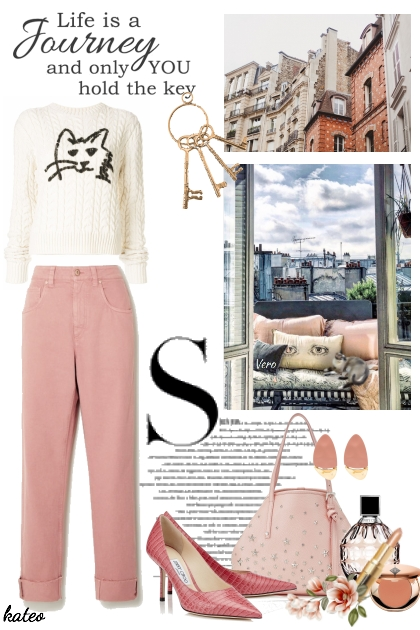 Pink Jeans and Paris . . .