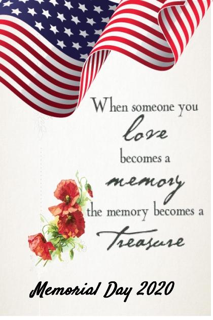 In Memory . . . .
