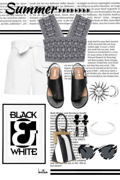 BLACK & WHITE Summer
