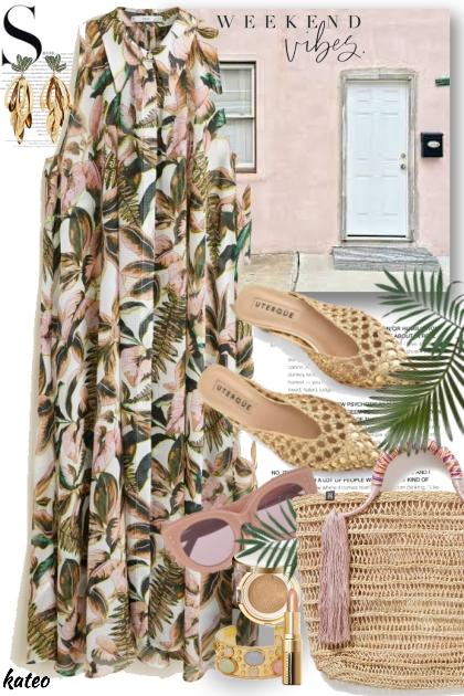 Pink Stucco Cottage