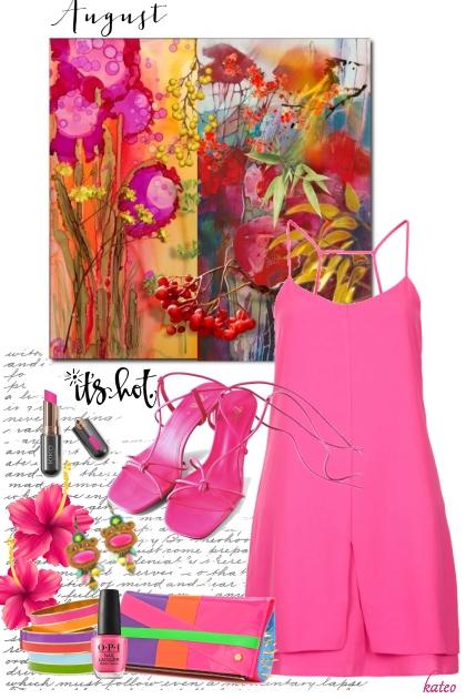 Hot Pink Summer !!