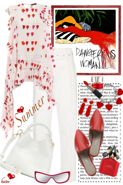 Red & White Summer