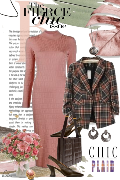 Dusty Rose and Charcoal Grey
