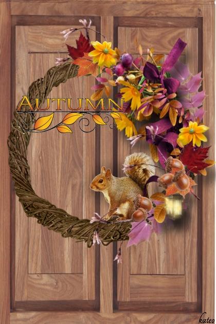 Autumn Door Wreath