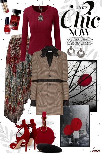 Autumn Red - 搭配