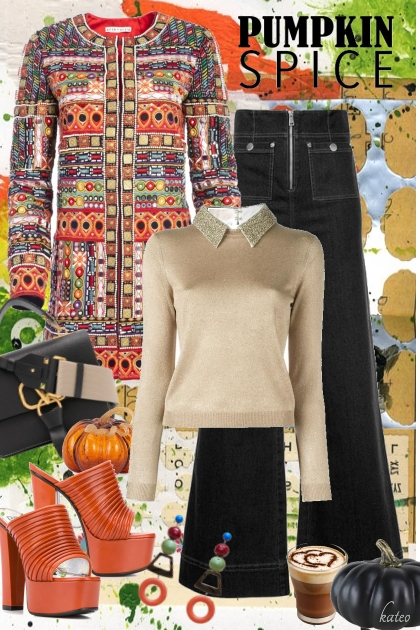 Pumpkin Spice Latte Please !! - Combinaciónde moda
