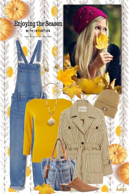 Golden Leaves - Fashion set