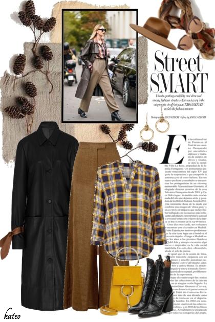 Casual Street Fashion - Modna kombinacija