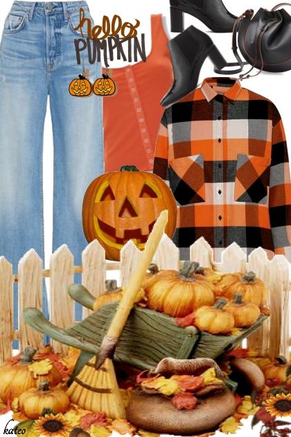 Pumpkin Time !!- Kreacja