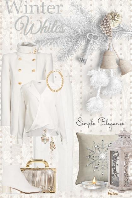 Gold & White Winter
