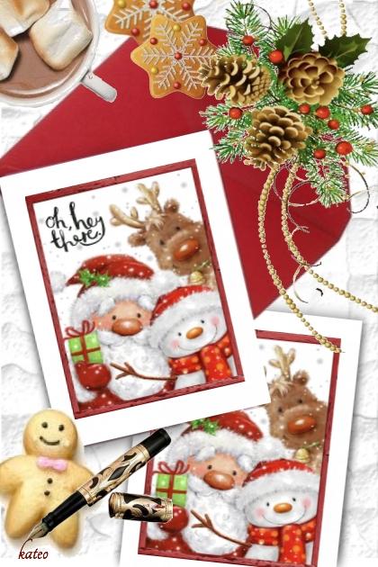Writing my Christmas Cards