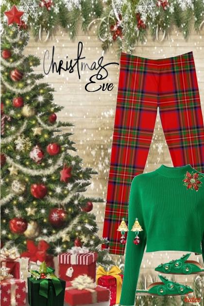 Festive Christmas Eve