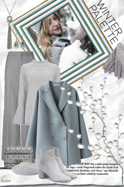 Grey Days, But that's Okay !!- Fashion set