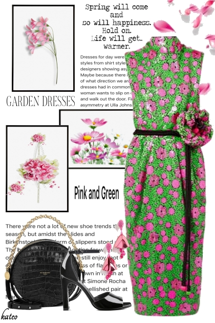 Pink and Green Spring
