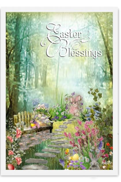 Easter Garden  - Fashion set