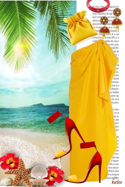 Let the Sun Shine !!- combinação de moda