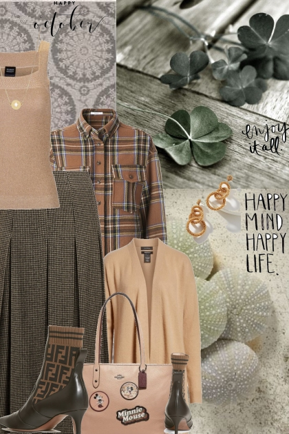 A Confluence of Browns- Fashion set
