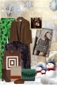 Brown and green for Winter