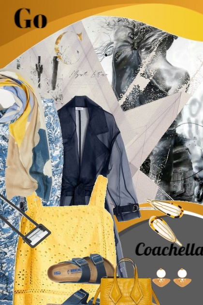 Music festival dressing- Fashion set