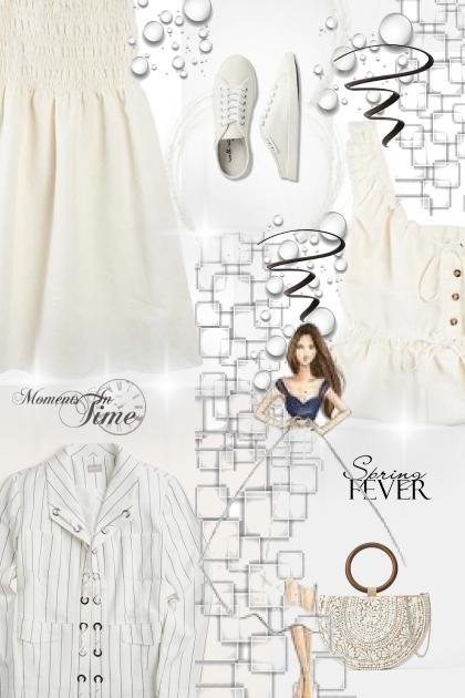 all white for spring