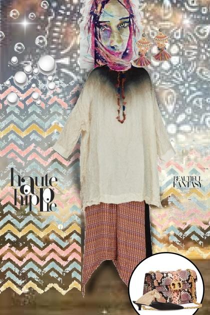 Hippie goes ethnic