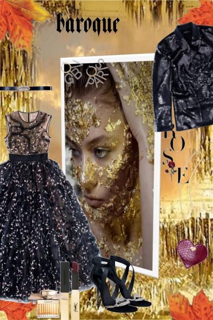 baroque elegance- Fashion set